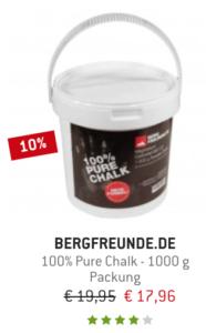 Pure Chalk von Bergfreunde.de