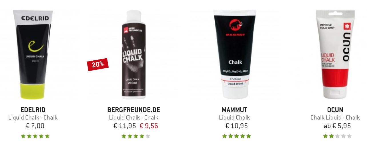 Liquid Chalk auf Berfreunde.de