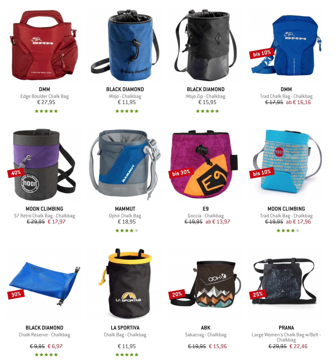 Chalkbags bei bergfreunde kaufen