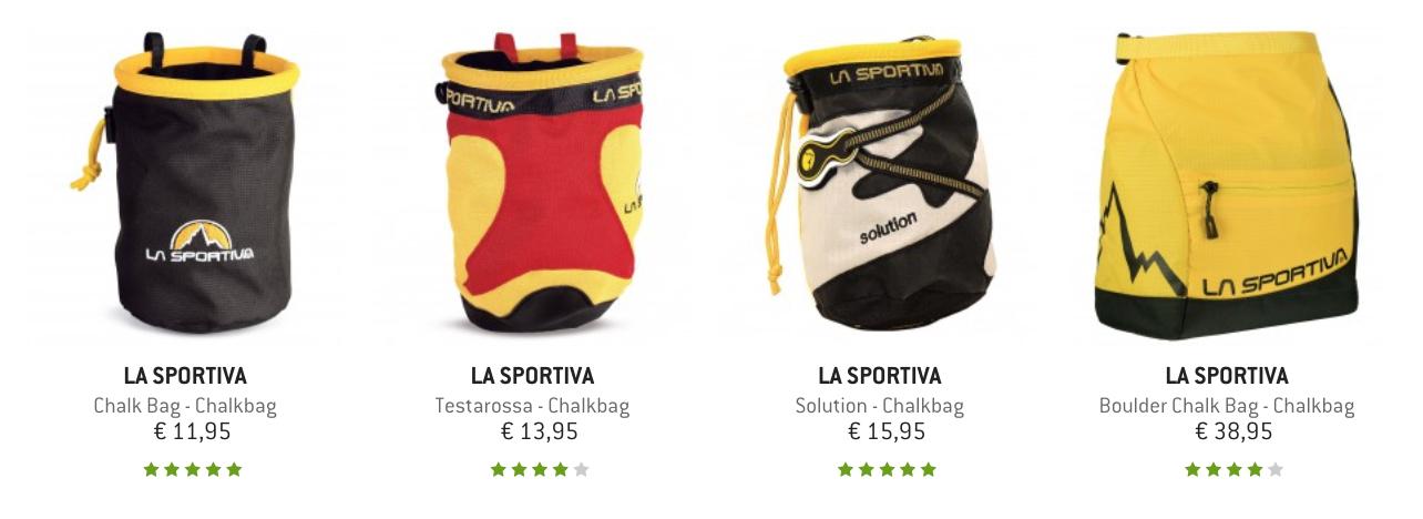 Chalkbags von La Sportiva