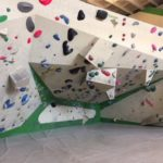 Boulderwand in der boulderhalle ostbloc.